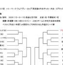 第37回 ハトマーク フェアプレーカップ 東京都4年生サッカー大会 3ブロック予選 組み合わせ